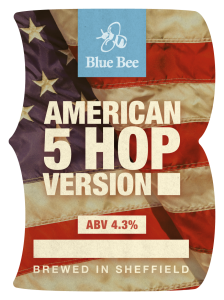 Image result for blue bee brewery american 5 hop